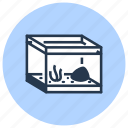 aquarium, pet, shop icon