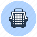 cage, carrier, pet, shop icon