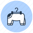 clothes, dog, pet, shop icon