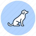 dog, pet, puppy, shop icon