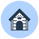 doghouse, kennel, pet, shop icon