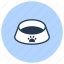 bowl, dog, food, pet, shop icon
