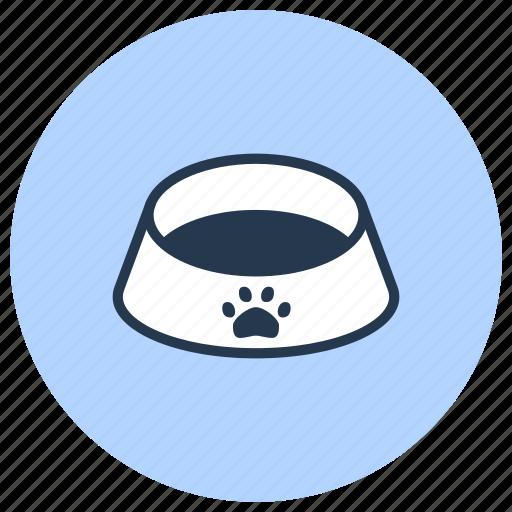 bowl, dog, food, pet, shop icon