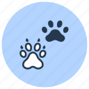 bog, cat, paw, pet, shop icon