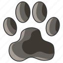 animal, cat, dog, foot, paw, pet, print