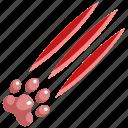 aggressive, animal, danger, dangerous, forest, pet, predator icon