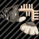 animal, bone, fish, fishbone, food, skeleton