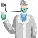 avatar, doctor, jobs, occupation, profession, veterinarian icon