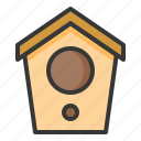 bird house, garden, pet, shop icon