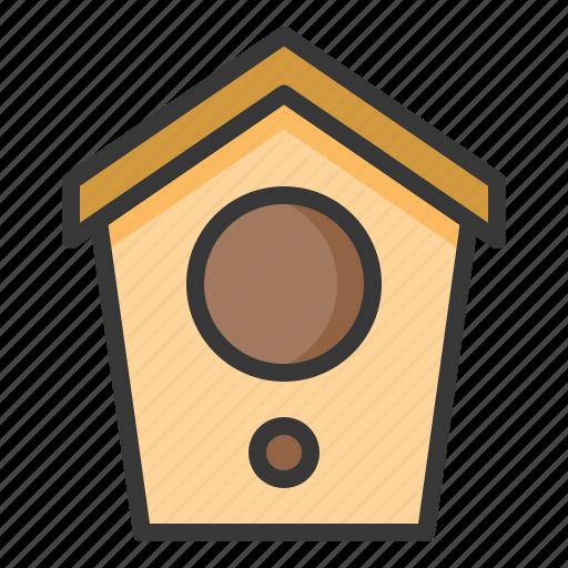 bird house, garden, pet, shop icon