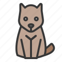 animal, canine, dog, pet, shop icon
