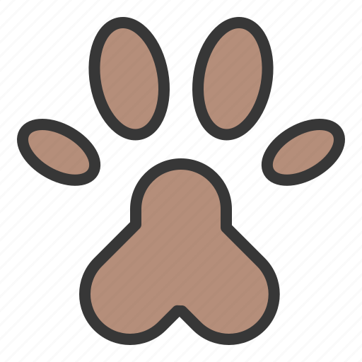 animal foot print, foot print, pet, shop icon