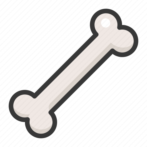 bone, dog toy, pet, shop icon