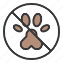 no animals, no pets allowed, pet, pet forbidden, shop icon