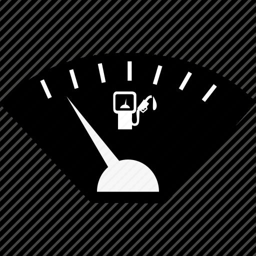 meter, petrol icon