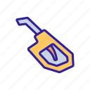 automobile, petrol, fuel, tool, rounded, gun, grip icon
