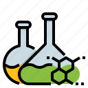 chemical, formula, fuel, oil, research icon