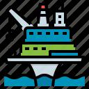 drilling, offshore, oil, platform, rig