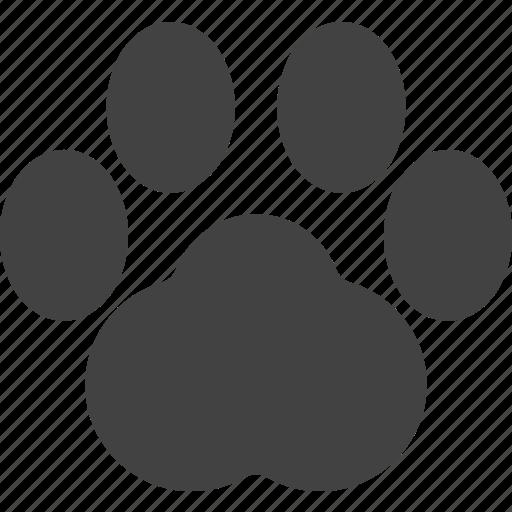 animal, claw, pet icon