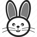 animal, bunny, pet, rabbit icon