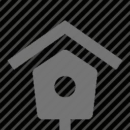 bird house, home, house icon