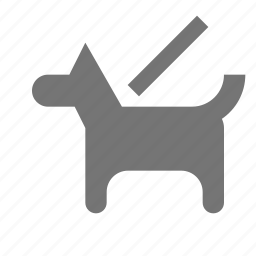 dog, k9, leash icon