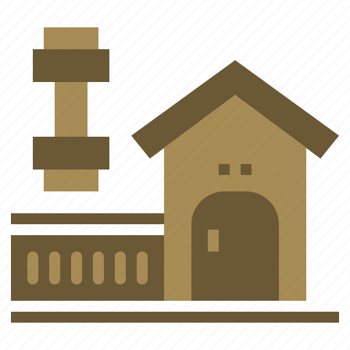 animals, buildings, dog, doghouse, home, house, kennel icon