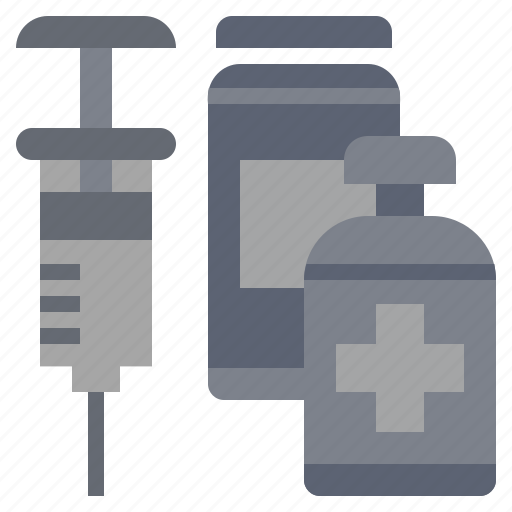injection, medical, syringe, treatment, vaccination, vaccine, vaccines icon