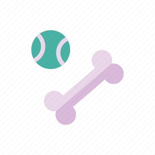 ball, bone, pet, pets, petshop, tennis, toys icon