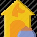 animal, dog, house, pet, petshop