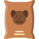 animal, dog, food, pet, petshop icon