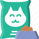 animal, cat, food, pet, petshop icon