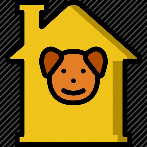 Animal, dog, house, pet, petshop icon - Download on Iconfinder