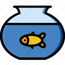 animal, fish, pet, petshop icon