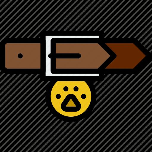 animal, dog, leash, pet, petshop icon