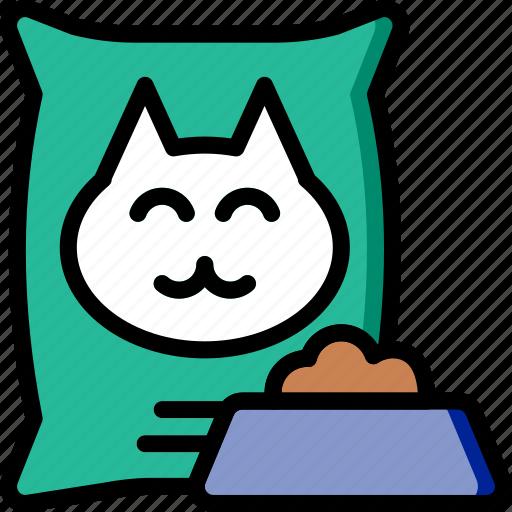 animal, cat, food, pet, petshop icon
