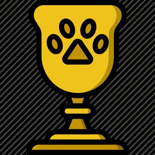 animal, pet, petshop, trophy icon
