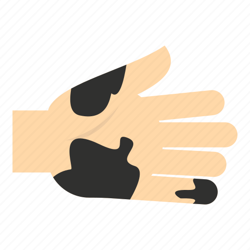 dirt, dirty, empty, finger, hand, hygiene, unclean icon