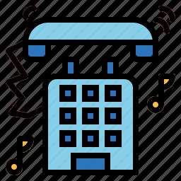 cellphone, communication, ringing, telephone icon