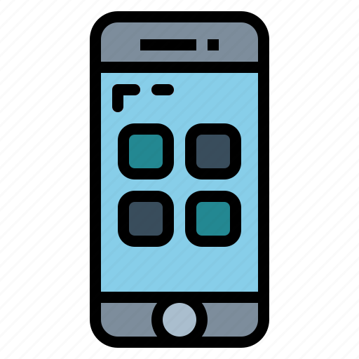 application, mobile, phone, smartphone icon