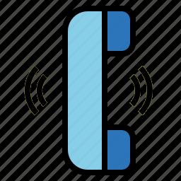 call, conversation, phone, telephone icon