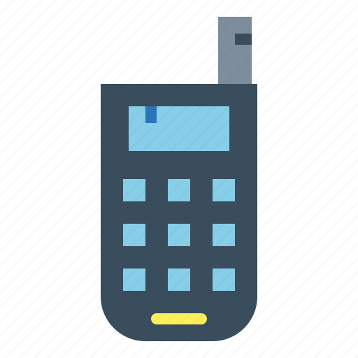 mobile, old, phone, telephone icon