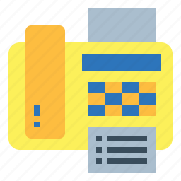 call, fax, material, office, phone, telephone icon