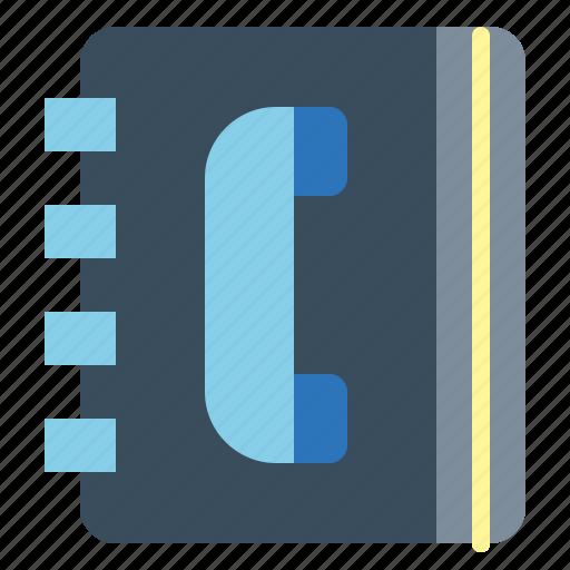 book, phone, phonebook, smartphone icon