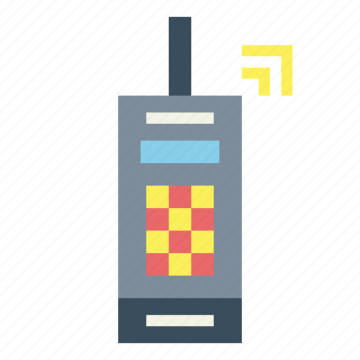 mobile, phone, telephone, vintage icon