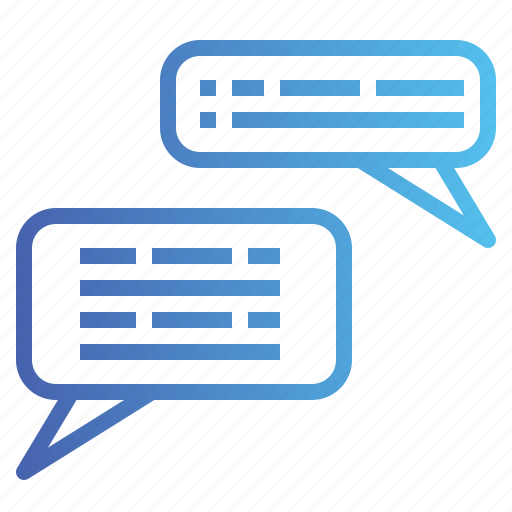 bubble, chat, conversation, message, speaking, speech icon