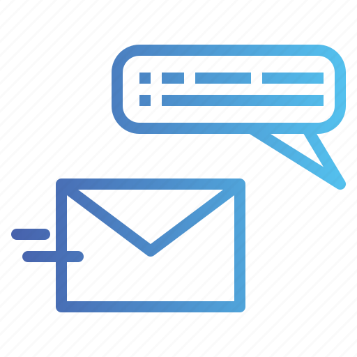 bubble, chat, conversation, mail, sms, speech icon