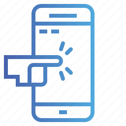 mobile, phone, screen, telephone, touch icon