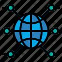 earth, globe, internet, multimedia, world, worldwide icon