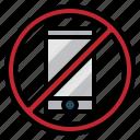 callphone, communications, mobile, no, phone, signaling